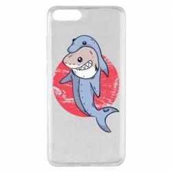 Чехол для Xiaomi Mi Note 3 Shark or dolphin