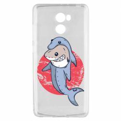 Чехол для Xiaomi Redmi 4 Shark or dolphin