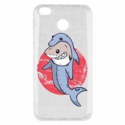 Чехол для Xiaomi Redmi 4x Shark or dolphin