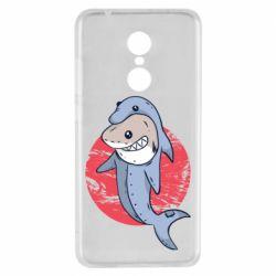 Чехол для Xiaomi Redmi 5 Shark or dolphin