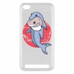 Чехол для Xiaomi Redmi 5A Shark or dolphin