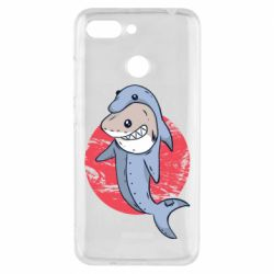 Чехол для Xiaomi Redmi 6 Shark or dolphin