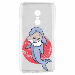 Чехол для Xiaomi Redmi Note 4 Shark or dolphin