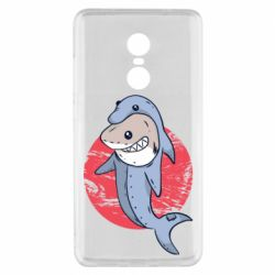 Чехол для Xiaomi Redmi Note 4x Shark or dolphin
