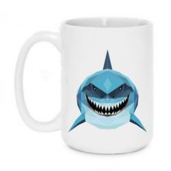 Кружка 420ml Shark Poly Art