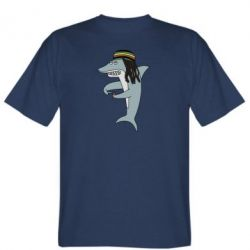 Чоловіча футболка Shark Rastaman