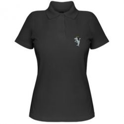 Жіноча футболка поло Shark Rastaman
