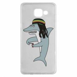 Чохол для Samsung A5 2016 Shark Rastaman
