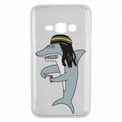 Чохол для Samsung J1 2016 Shark Rastaman