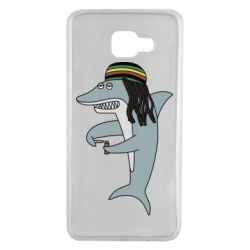 Чохол для Samsung A7 2016 Shark Rastaman