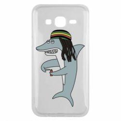 Чохол для Samsung J5 2015 Shark Rastaman