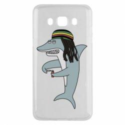 Чохол для Samsung J5 2016 Shark Rastaman