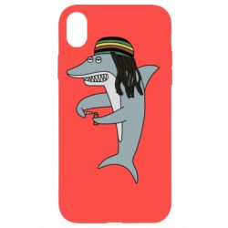 Чохол для iPhone XR Shark Rastaman