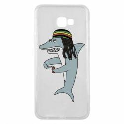 Чохол для Samsung J4 Plus 2018 Shark Rastaman