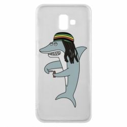 Чохол для Samsung J6 Plus 2018 Shark Rastaman