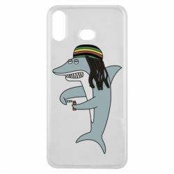Чохол для Samsung A6s Shark Rastaman