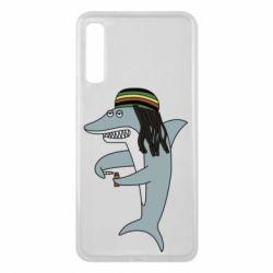 Чохол для Samsung A7 2018 Shark Rastaman