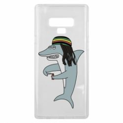Чохол для Samsung Note 9 Shark Rastaman