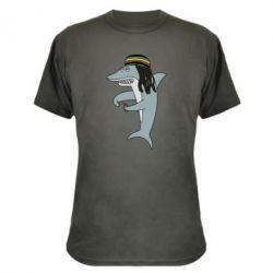 Камуфляжна футболка Shark Rastaman