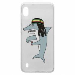 Чохол для Samsung A10 Shark Rastaman