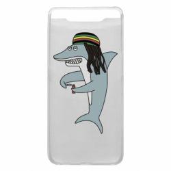 Чохол для Samsung A80 Shark Rastaman