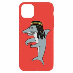 Чохол для iPhone 11 Shark Rastaman