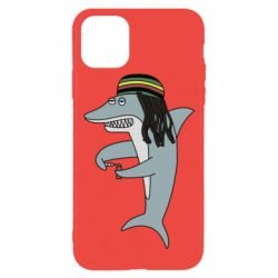 Чохол для iPhone 11 Pro Shark Rastaman