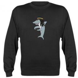Реглан (світшот) Shark Rastaman