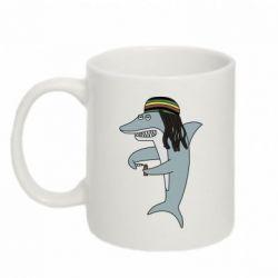 Кружка 320ml Shark Rastaman