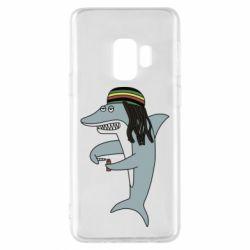 Чохол для Samsung S9 Shark Rastaman