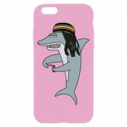Чохол для iPhone 6/6S Shark Rastaman