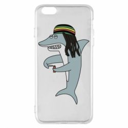 Чохол для iPhone 6 Plus/6S Plus Shark Rastaman