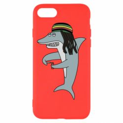 Чохол для iPhone 8 Shark Rastaman