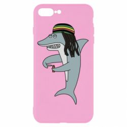 Чохол для iPhone 8 Plus Shark Rastaman
