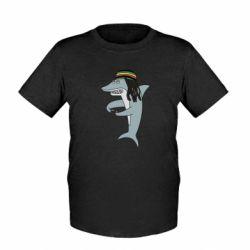 Дитяча футболка Shark Rastaman
