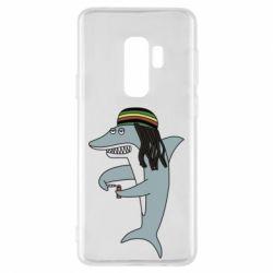 Чохол для Samsung S9+ Shark Rastaman