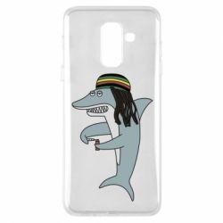 Чохол для Samsung A6+ 2018 Shark Rastaman
