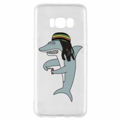 Чохол для Samsung S8 Shark Rastaman