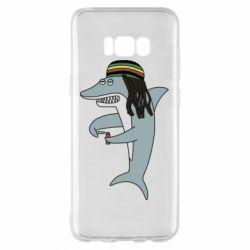 Чохол для Samsung S8+ Shark Rastaman