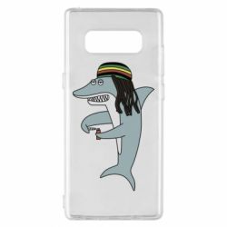 Чохол для Samsung Note 8 Shark Rastaman