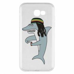 Чохол для Samsung A7 2017 Shark Rastaman