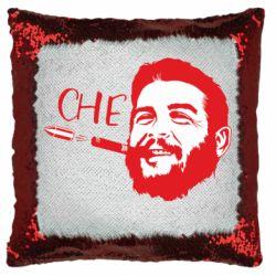 Подушка-хамелеон Сhe Guevara bullet