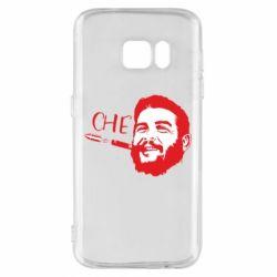 Чохол для Samsung S7 Сhe Guevara bullet
