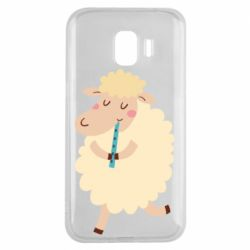 Чехол для Samsung J2 2018 Sheep with flute - FatLine