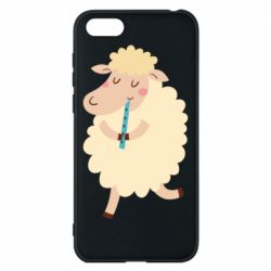 Чехол для Huawei Y5 2018 Sheep with flute - FatLine