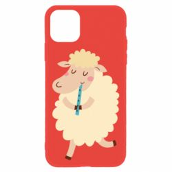 Чехол для iPhone 11 Sheep with flute