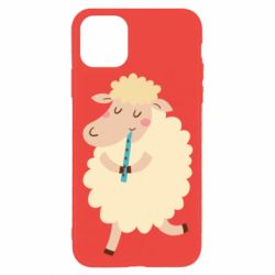Чехол для iPhone 11 Pro Sheep with flute