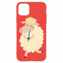 Чехол для iPhone 11 Pro Max Sheep with flute