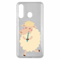Чехол для Samsung M40 Sheep with flute