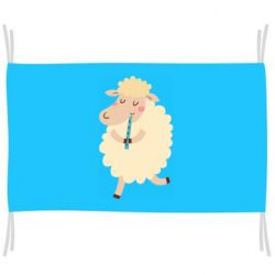 Прапор Sheep with flute